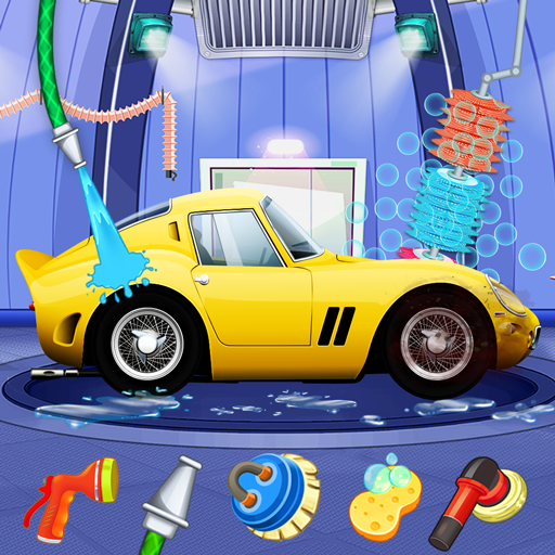 Kids Sports Car Wash Cleaning Garage 1.4 MOD APK Free Download