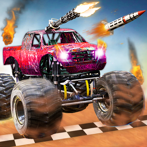 Monster Truck Death Race 2019 Car Shooting Games 1.5 APK MODModding APK Download