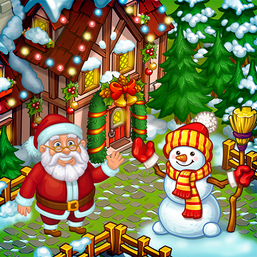 Farm Snow Happy Christmas Story With Toys Santa 1.70 MOD APK Free Download