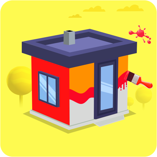 House Color Paint Roller Swipe – Maze Painting 1.0 APK MOD Free Download