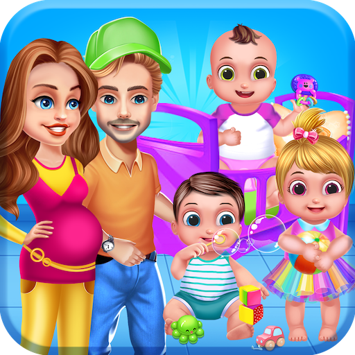 Mommy Daddy Newborn Triplets Grown Up Nursery 1.0.5 APK MODDED Free Download