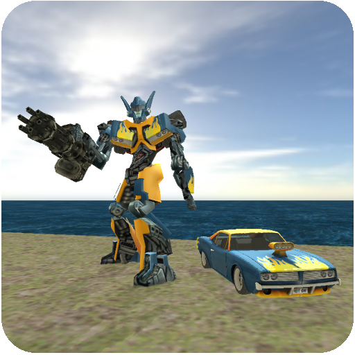 Muscule Car Robot 2.1 APK MODDED Free Download