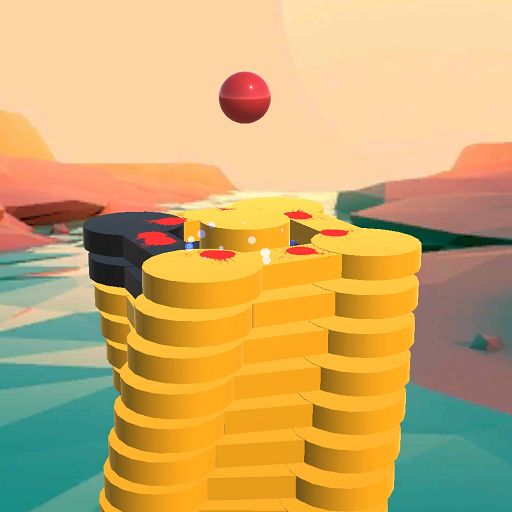 The Stack Tower Ball Fall game 3d stick blocks 1.5 Modding APK Download