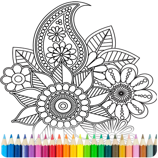 Coloring Book for Adults MOD APK Free Download