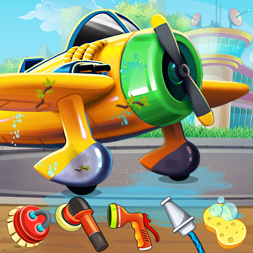 Kids Plane Wash Garage 1.8 Modding APK Download