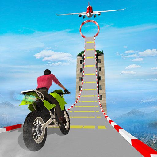 Sky bike stunt 3d Bike Race Free Bike Games Modding APK Download