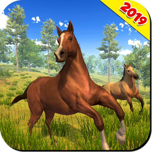 Wild Horse Family Simulator Horse Games APK MOD Free Download