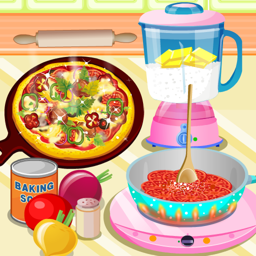 Yummy Pizza Cooking Game 5.0 APK MOD Download