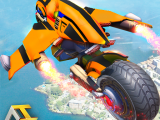 Real Flying Robot Bike Simulator 2.1 APK MOD Download