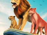 The Lion Simulator Animal Family Game 1.0 APK MODDED Download